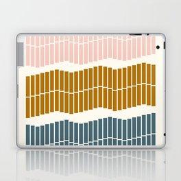 Geometric Piano Keys Laptop & iPad Skin