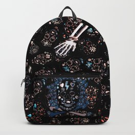 skull family Backpack