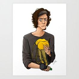 This Is No Banana Art Print