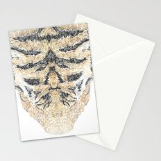 Tiger Head Stationery Cards