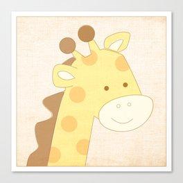 Giraffe Jungle Series Print Canvas Print