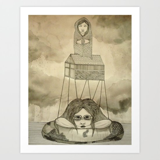Ladies of the Lake Art Print