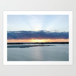 Sunrise on the GC Art Print