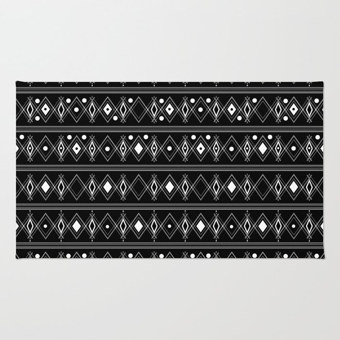 Black and white Art Deco. 23 Rug
