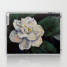 Gardenia Oil Painting Laptop & iPad Skin