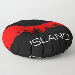 Rapa Nui Island Floor Pillow