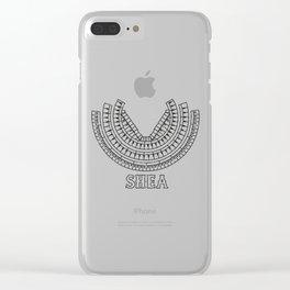 Shea Clear iPhone Case