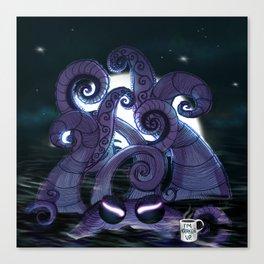 Kraken Up Canvas Print