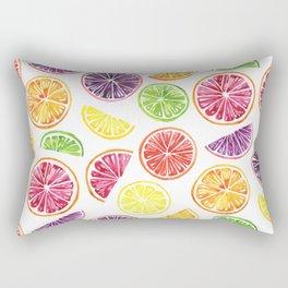 Citrus Wheels Rectangular Pillow