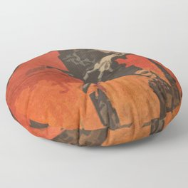 Do Your Part to Stop the Zombie Uprising Floor Pillow