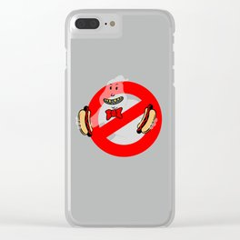 No Ghosts Clear iPhone Case