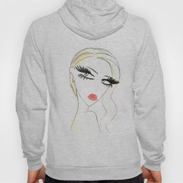Red Lips Blondy Hoody