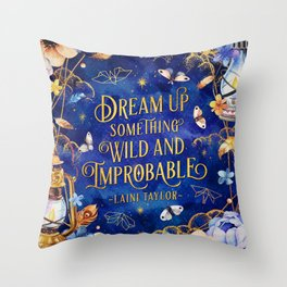 Dream up Throw Pillow