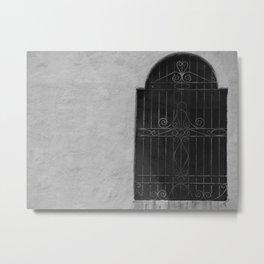 Barred Window  Metal Print