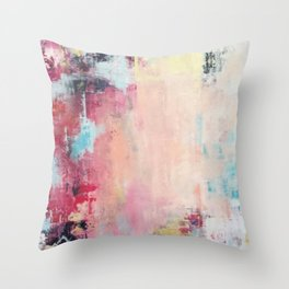 One Cohesive Force Throw Pillow