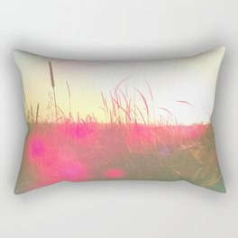 Will You Stay With Me, Will You Be My Love Among the fields of barley Rectangular Pillow