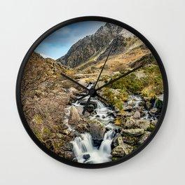 Tryfan and Ogwen Falls Wall Clock