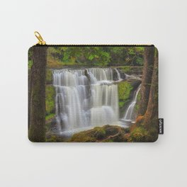 Autumn at Sgwd y Pannwr waterfall Carry-All Pouch