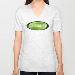 Capitalist Unisex V-Neck