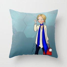 Fast Fashion Throw Pillow