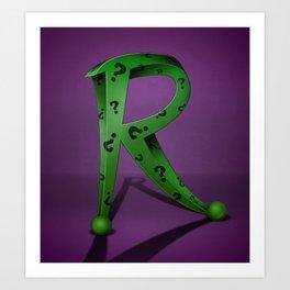 Superbet 'R' Art Print