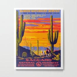 Saguaro National Monument Metal Print