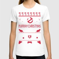 murray T-shirts featuring Murray Christmas (2013) by Derek Eads