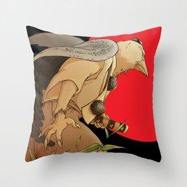TENGU Throw Pillow
