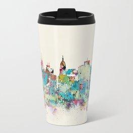 Madison Wisconsin skyline Travel Mug