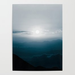 Misty Mountains Poster