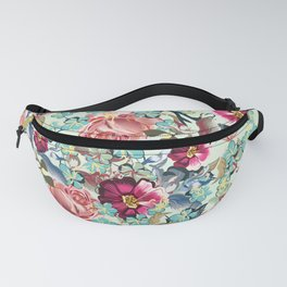 Beautiful victorian rose pattern in vintage style Fanny Pack
