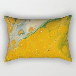 I love mustard Rectangular Pillow