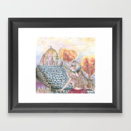 Fantasy of Colors Framed Art Print