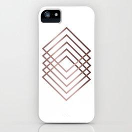 Five squares iPhone Case