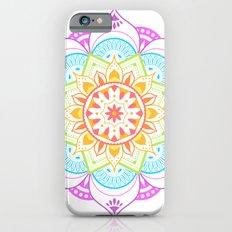 Rainbow Mandala iPhone 6s Slim Case