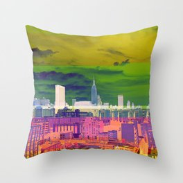 New York City | Project L0̷SS   Throw Pillow