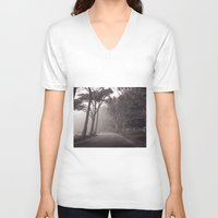 abyss V-neck T-shirts featuring The Abyss by A City On Film