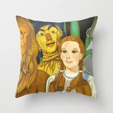 Dorothy's Crew Throw Pillow