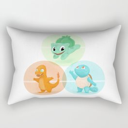 Poké: choose your starter Rectangular Pillow
