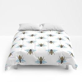 Watercolour Bee Pattern Comforters