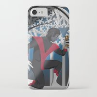 sword iPhone & iPod Cases featuring Wagner's Sword by Andrew Formosa