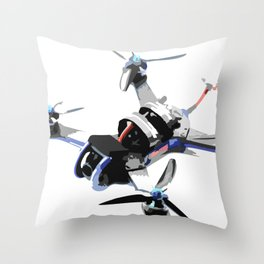 Freestyle quad or fpv drone for race drone freestyle pilots Throw Pillow
