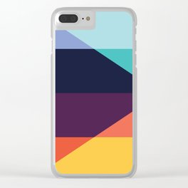 Colorful pattern XVIII Clear iPhone Case