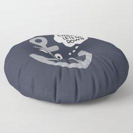 That Sinking Feeling Floor Pillow