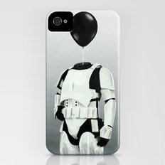 The Stormtrooper - #2 in the Balloon Head Series iPhone (4, 4s) Slim Case