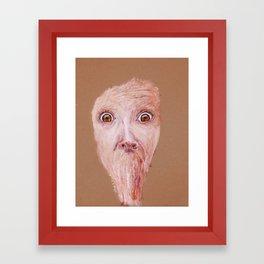 Aghast  Framed Art Print