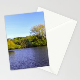 View across the water Stationery Cards