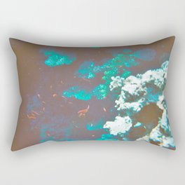 Red in the Sea Rectangular Pillow