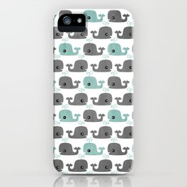 Moby iPhone Case
