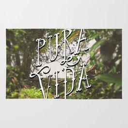 Pura Vida Costa Rica Jungle Life Caribbean Type Rug